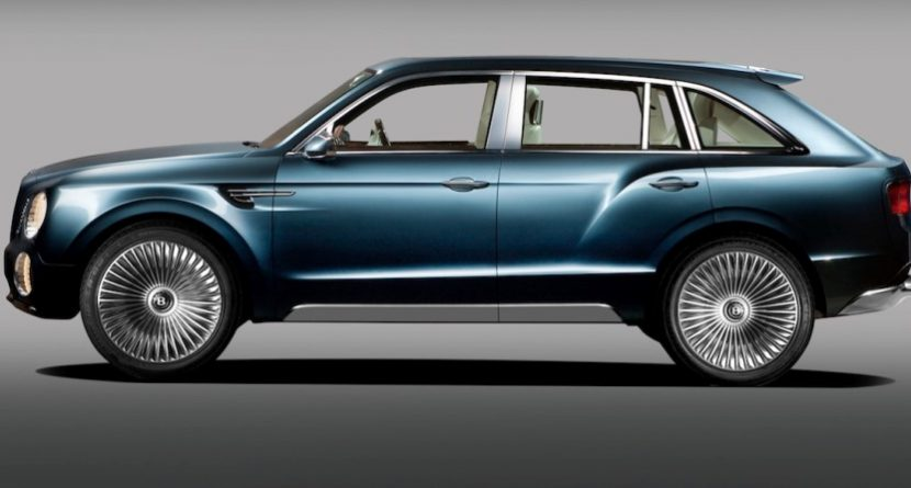 Your Next SUV Could Be A Bentley