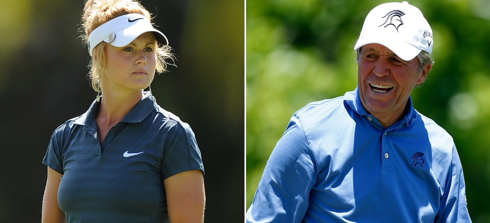 Gary Player, Carly Booth Represent Golf Well in ESPN 'Body Issue'