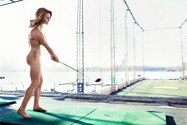 Criticism lpga players in the buff much