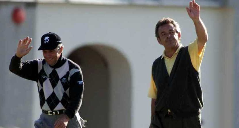 Gary Player, Tony Jacklin Know Muirfield Well
