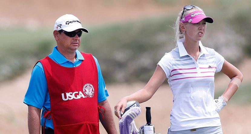 Jessica Korda Fires Caddie During U.S. Open