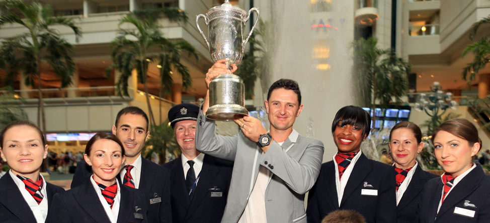 Justin Rose Heads for British Open with U.S. Open in Hand