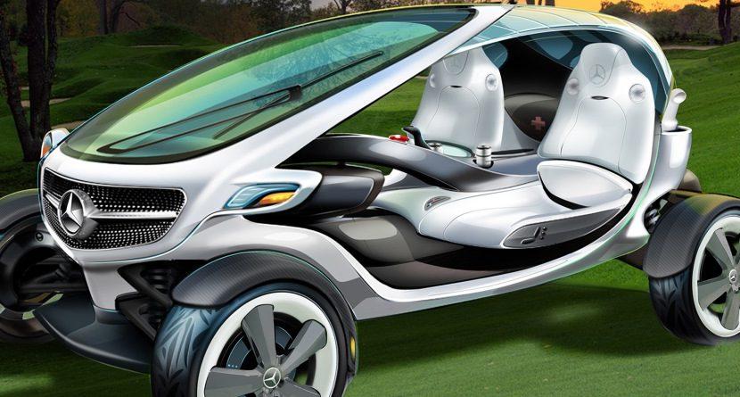 Mercedes-Benz's Golf Cart of the Future