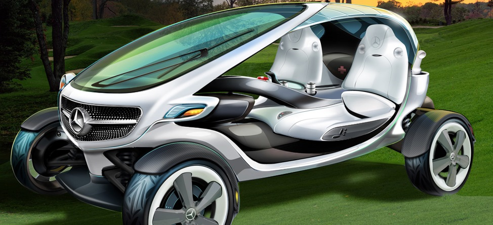 Mercedes-Benz's Golf Cart of the Future