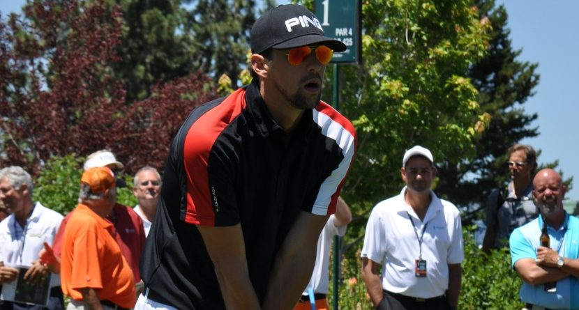Michael Phelps Quickly Improving at Golf, But Not Quickly Enough