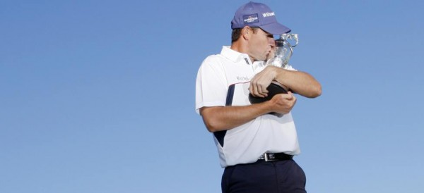 Padraig Harrington claret jug anchor