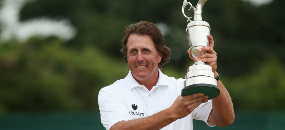 Phil Mickelson wins Open Championship