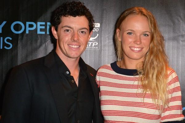 Rory McIlroy and Caroline Wozniacki 600x400