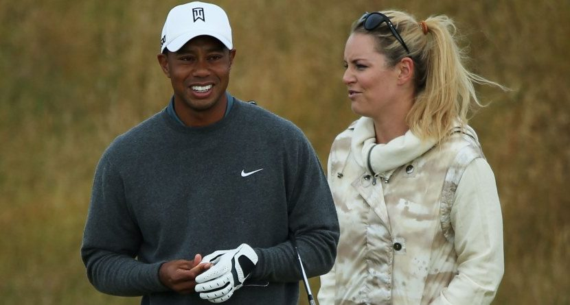 Lindsey Vonn Happy with Tiger Woods, Doesn't Need Marriage