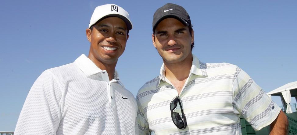 Tiger Woods Gaining on Roger Federer's Power