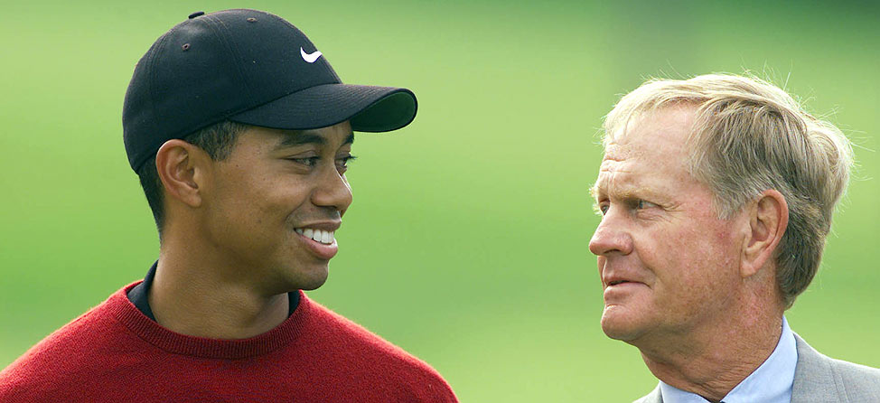 By the Numbers: Tiger Woods vs  Jack Nicklaus | SwingU Clubhouse