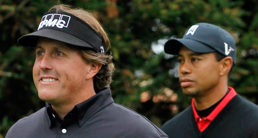 The Odds: Woods, Mickelson Early Favorites for PGA Championship