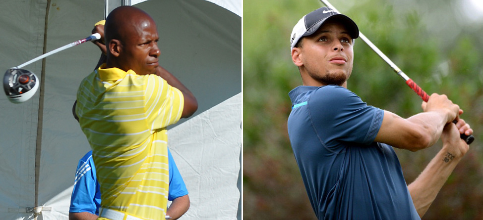 Ray Allen & Stephen Curry: Battle on the Links