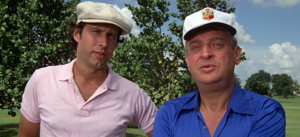 Rodney Dangerfield Getting Respect for Caddyshack Line