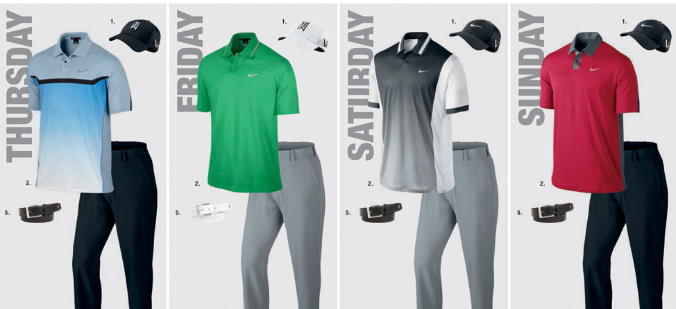 Nike Releases Scripts for 2013 PGA Championship
