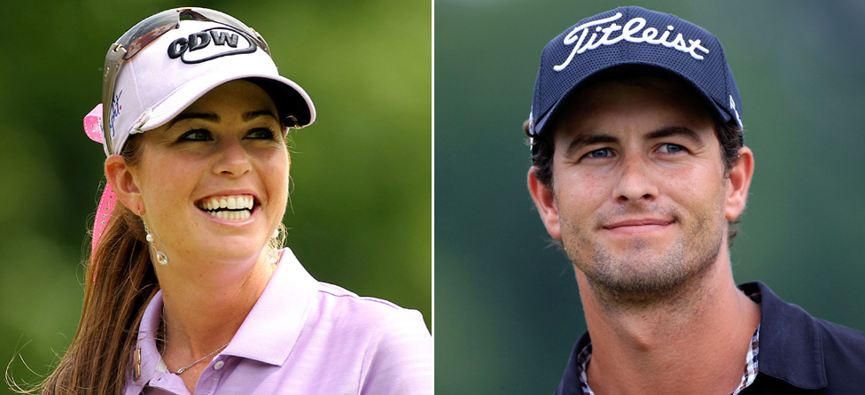 Votes Are In: Adam Scott & Paula Creamer Golf's Sexiest