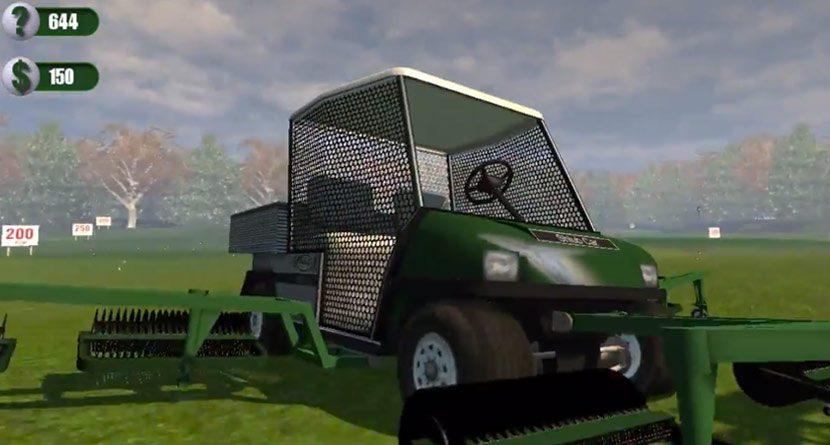 The Driving Range Picker-Upper Simulator
