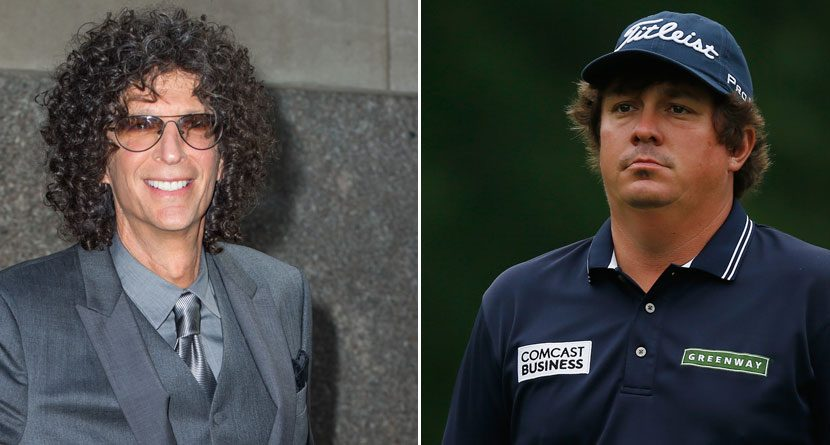 Jason Dufner Chats With Howard Stern
