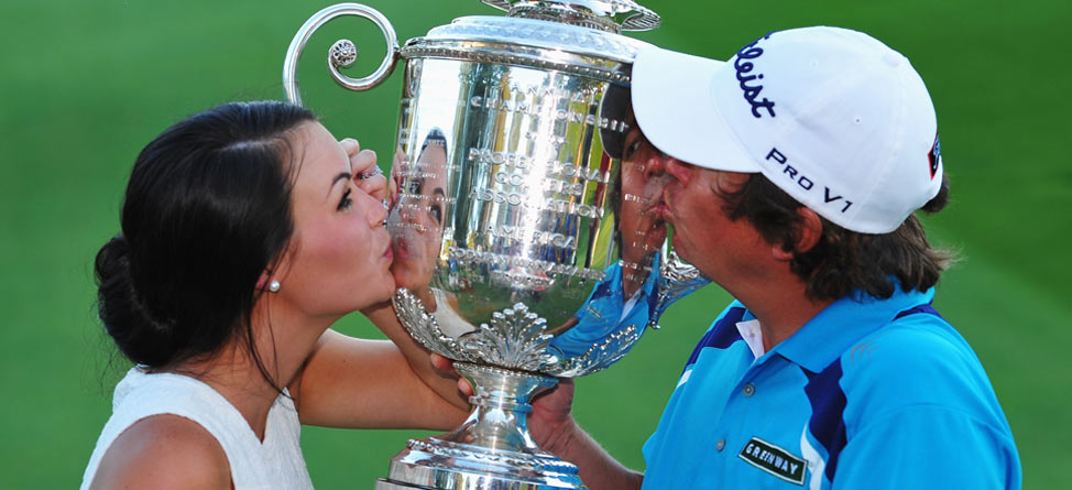 No Butts About It, Jason Dufner Has His Hands Full