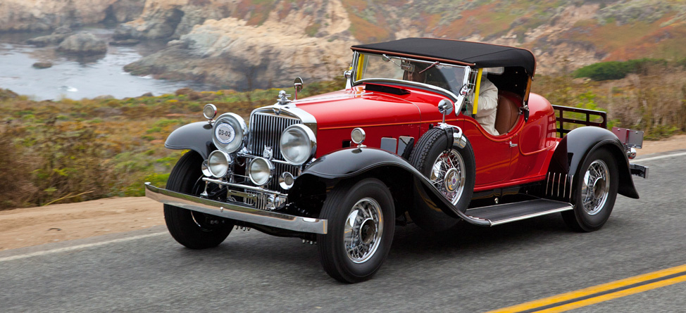 2013 Pebble Beach Concours: History and Tradition