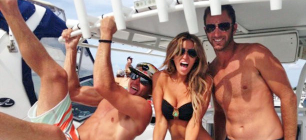 Dustin Johnson + Paulina Gretzky = Popular