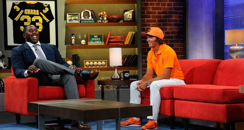 Rickie Fowler Makes Fox Sports 1 Debut