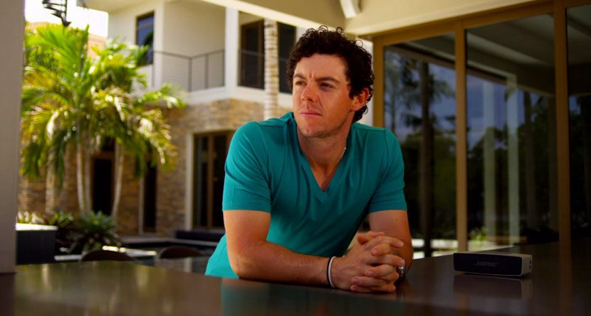 Rory McIlroy's New Look, Nice Digs