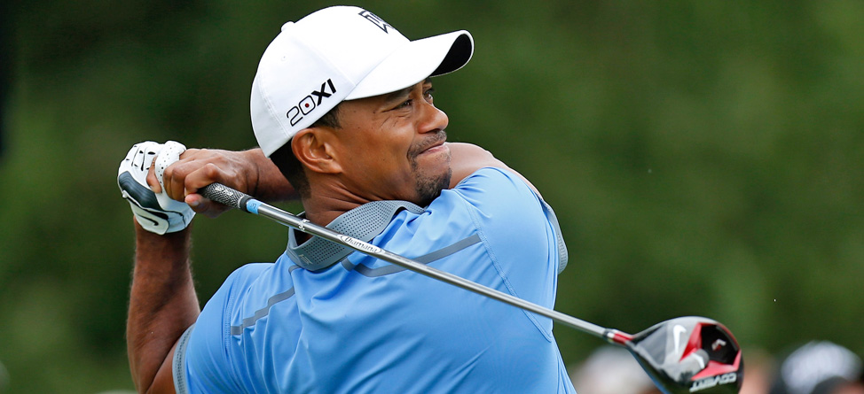 Tiger Fires 61 at Firestone, Holds 7-Shot Lead
