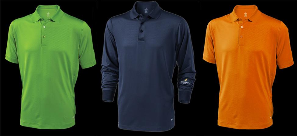 Energy Athletic's Ionized Golf Shirts