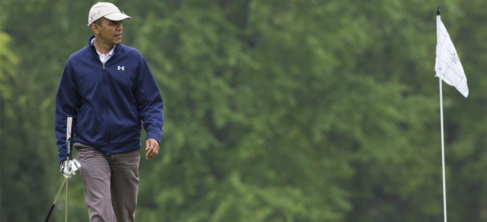 George Bush on Obama: 'He Oughta Play Golf'