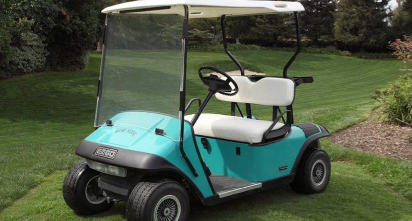 Bob Hope's Golf Cart Up For Auction