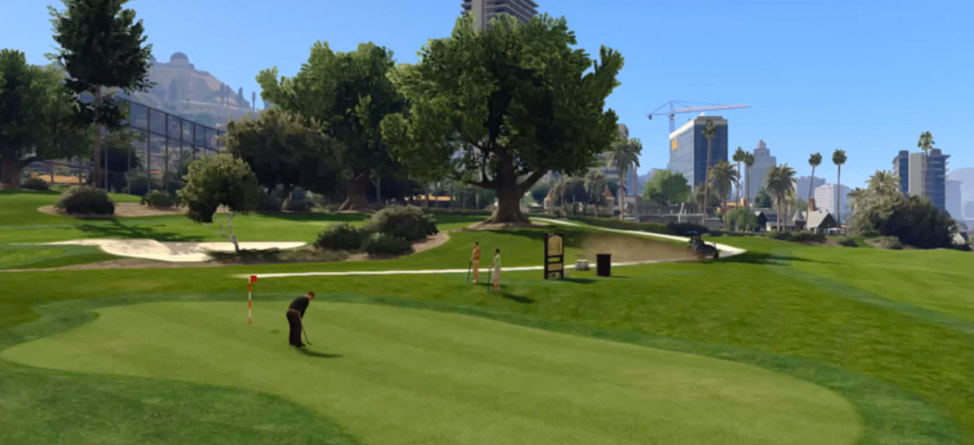 History Of Golf In 'Grand Theft Auto'