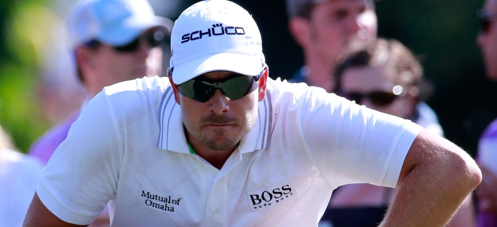 Henrik Stenson Not Smashing Clubs in Atlanta