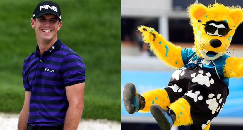 Jaguars' Mascot 0-2 After Falling to Billy Horschel