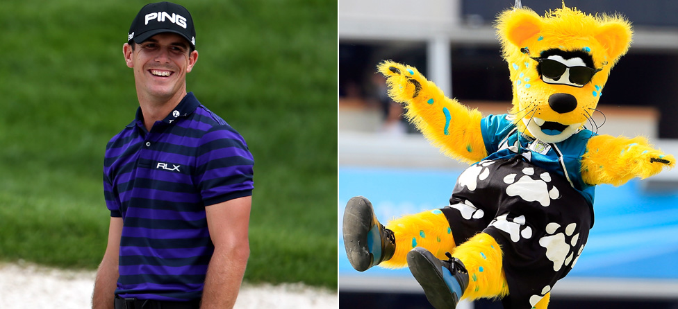 Jaguars' Mascot 0-2 After Falling to Billy Horschel