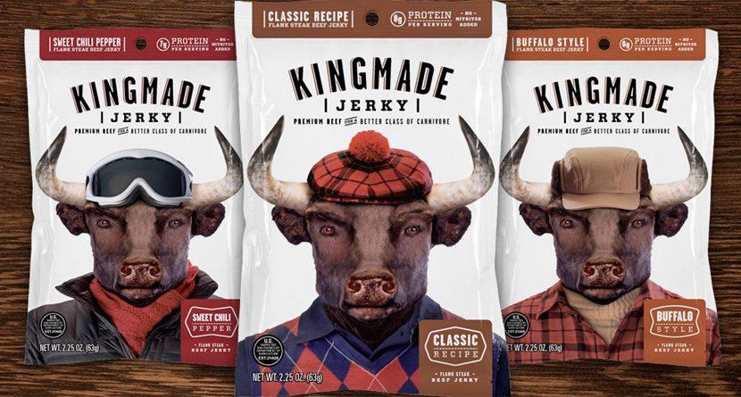 Caddie's Kingmade Jerky the Tasty Treat for Tour Pros
