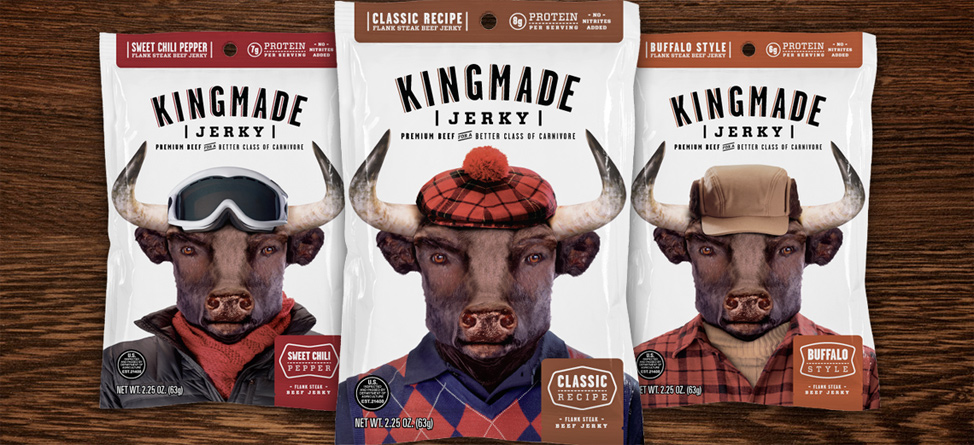 Caddie's Kingmade Jerky the Tasty Treat for Tour Pros