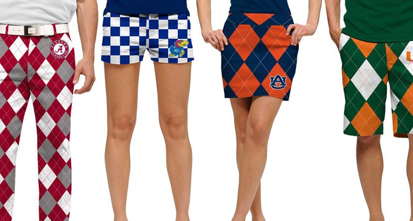Loudmouth Brings Golf and Football Together