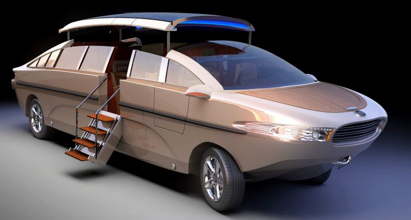 Nouvoyage Introduces Luxury Amphibious Limo Yacht
