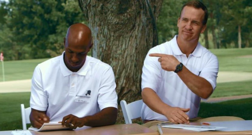 Outtakes: Peyton Manning Clowns In BMW Championship Ad