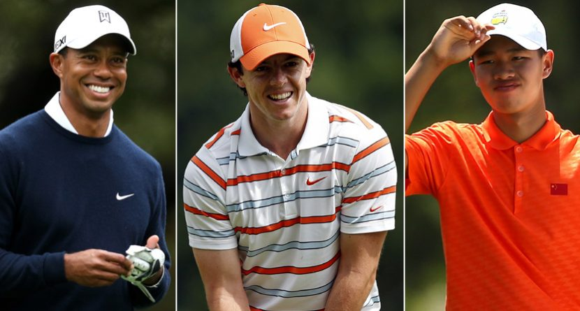 Tianlang Guan to Face Tiger Woods, Rory McIlroy in Skills Challenge