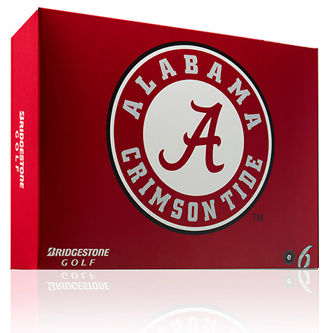 Bridgestone golf balls - Alabama