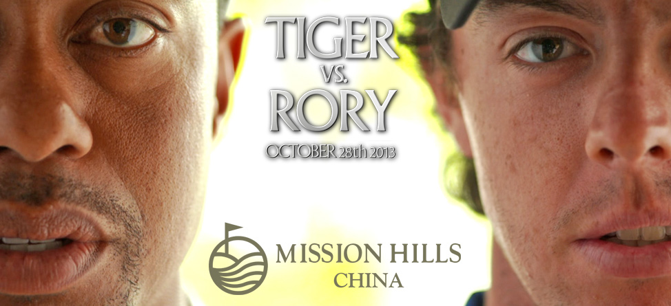 Tiger & Rory Match in China Exclusively on Back9Network and YouTube