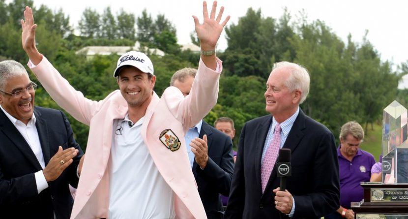 Adam Scott Rallies to Win PGA Grand Slam of Golf