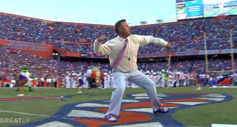 Chris DiMarco Gets Role as Florida Gator Cheerleader