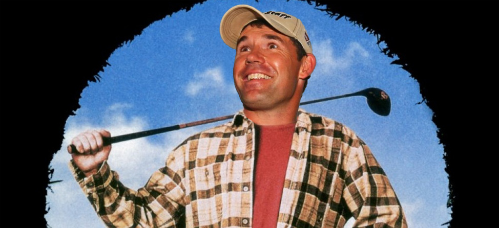 Padraig Harrington has 'Happy Gilmore' Shot Mastered