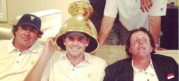 Best Presidents Cup Photo Ever