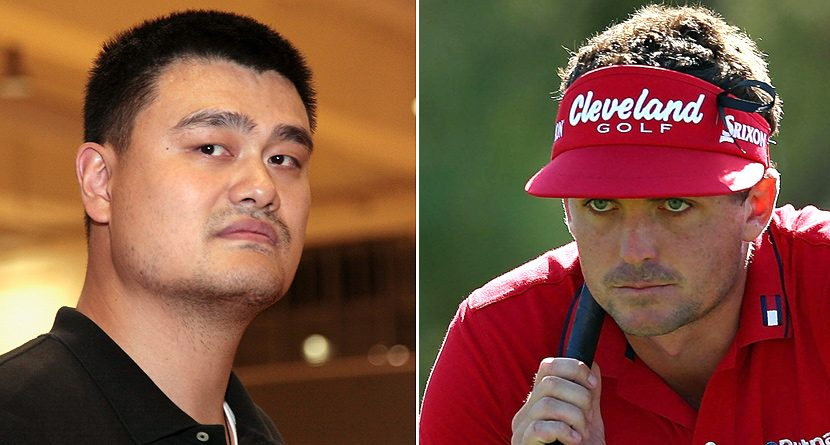 Yao Ming Is Not Impressed with Keegan Bradley