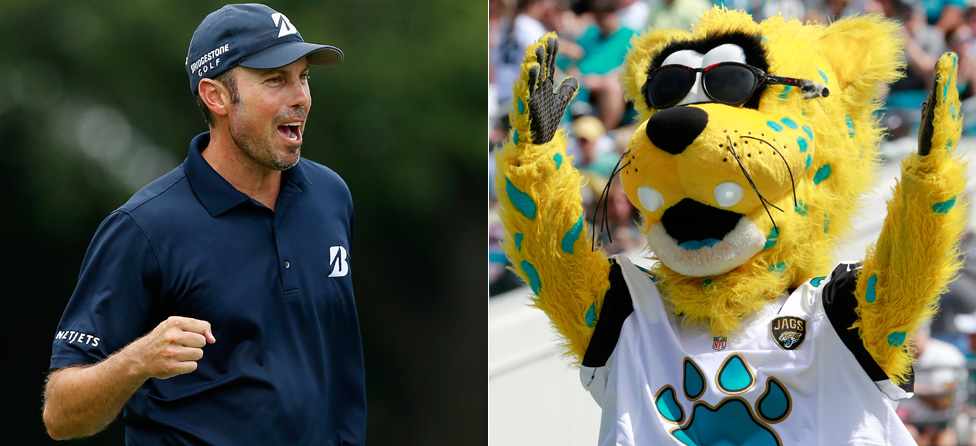 Jaguars Mascot Falls To Matt Kuchar, Extends Losing Streak