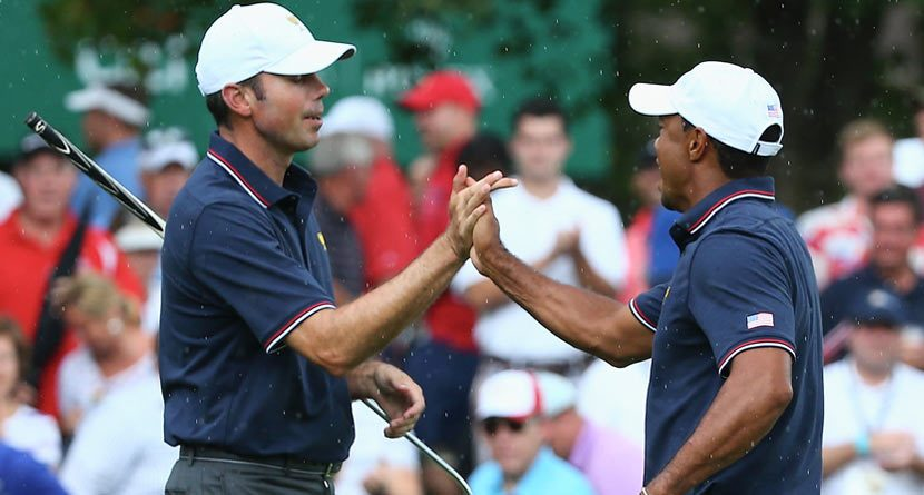 2013 Presidents Cup Moments: Day 1